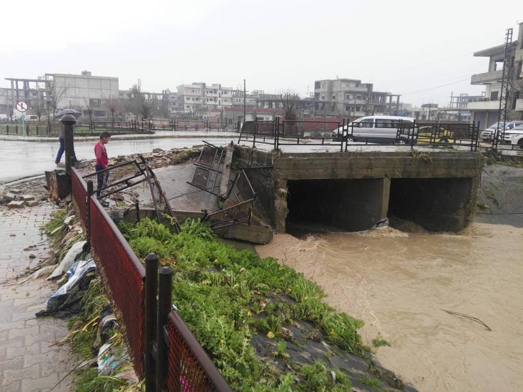 Photo of فيضانات تجتاح النواحي الشرقية لمقاطعة قامشلو