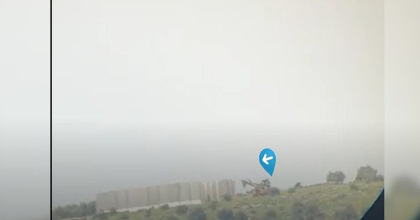 صورة دولة الاحتلال تبني جدارا بين قرى عفرين وتنشئ قواعد عسكرية