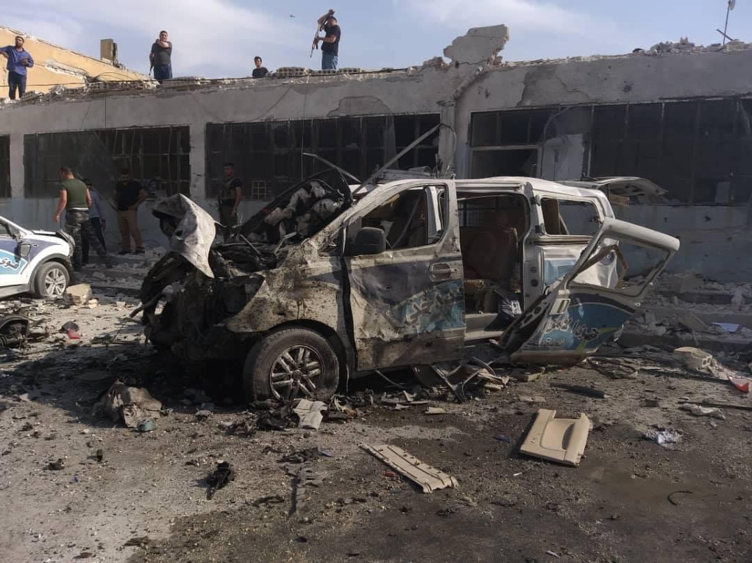 Photo of الأمن الداخلي: تفجير منبج هجوم انتحاري خلّف شهيداً و10 مصابين