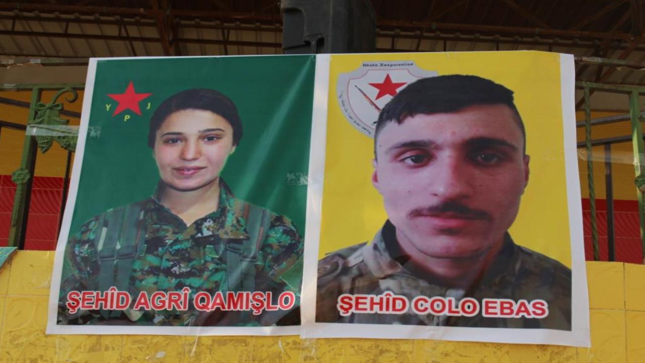 Photo of تشييع جثمان الشهيد ميتان والإعلان عن سجل الشهيدة آكري في قامشلو