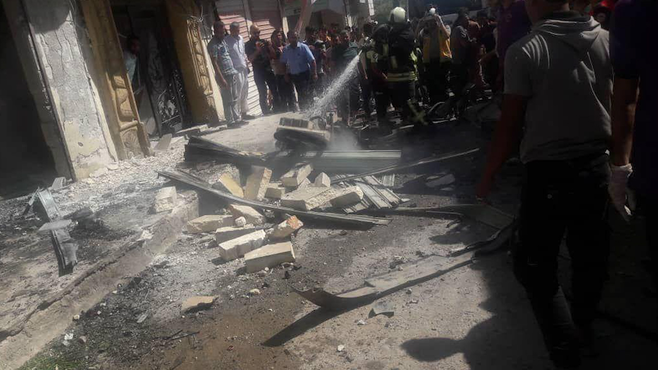 صورة تفجيرات متزامنة تضرب مناطق متفرقة في ريفي حلب الشمالي والشمالي الشرقي