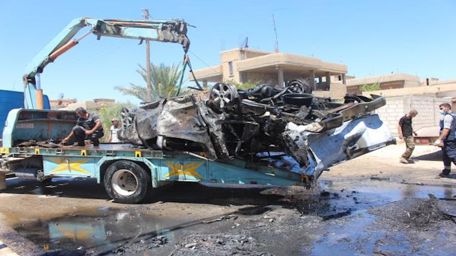 Photo of تفجير سيارة مفخخة في ناحية تربه سبيه واستشهاد 3 أطفال