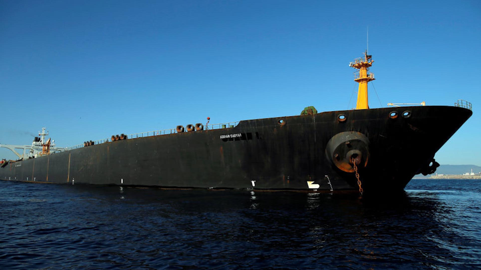 "Photo of ""أدريان داريا"" تهيم في البحر المتوسط بعد إغلاق نظام التتبع الخاص بها"