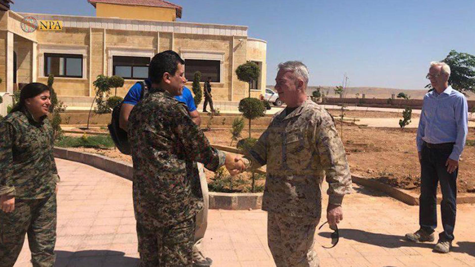 Photo of بقاء القوات الأمريكية في سوريا ودعمها لقسد أمر مستدام لضمان عدم عودة داعش