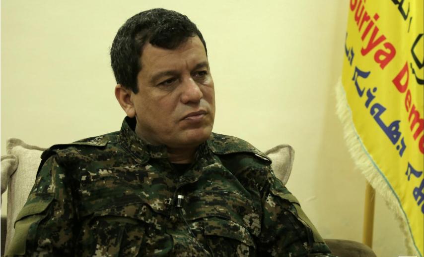 Photo of مظلوم عبدي يؤكد تصدي قسد للاحتلال التركي ويصف الانسحاب الأمريكي بالخيانة