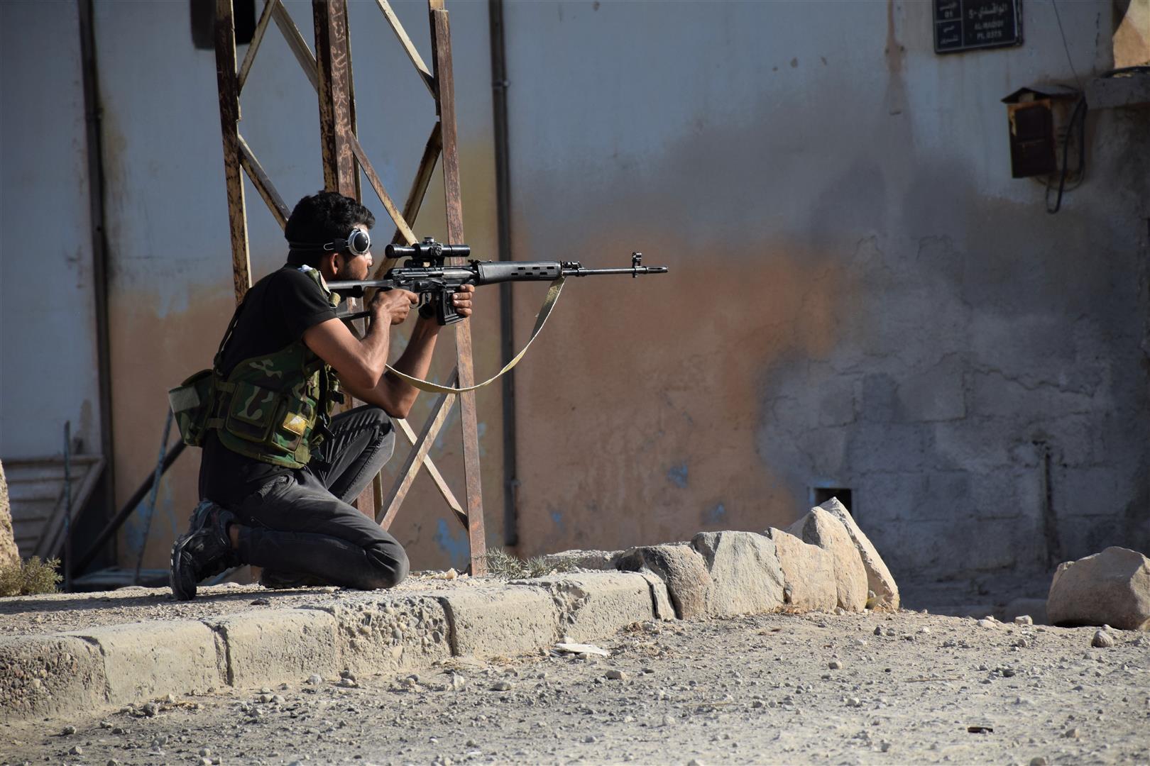صورة قسد تفشل محاولات المرتزقة احتلال قرى بين سري كانيه وتل تمر