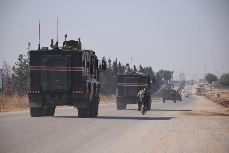 Photo of دورية روسية تنطلق من قامشلو صوب ناحية درباسية
