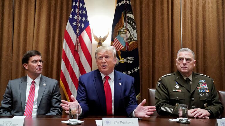 Photo of واشنطن بوست تكشف طريقة إقناع البنتاغون ترامب بإبقاء قوات أمريكية في سوريا