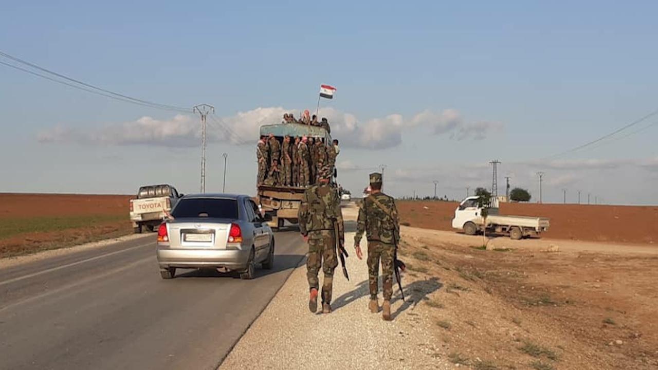 Photo of قوات حرس الحدود تنسحب من نقاط تمركزها بريف تل تمر والدرباسية