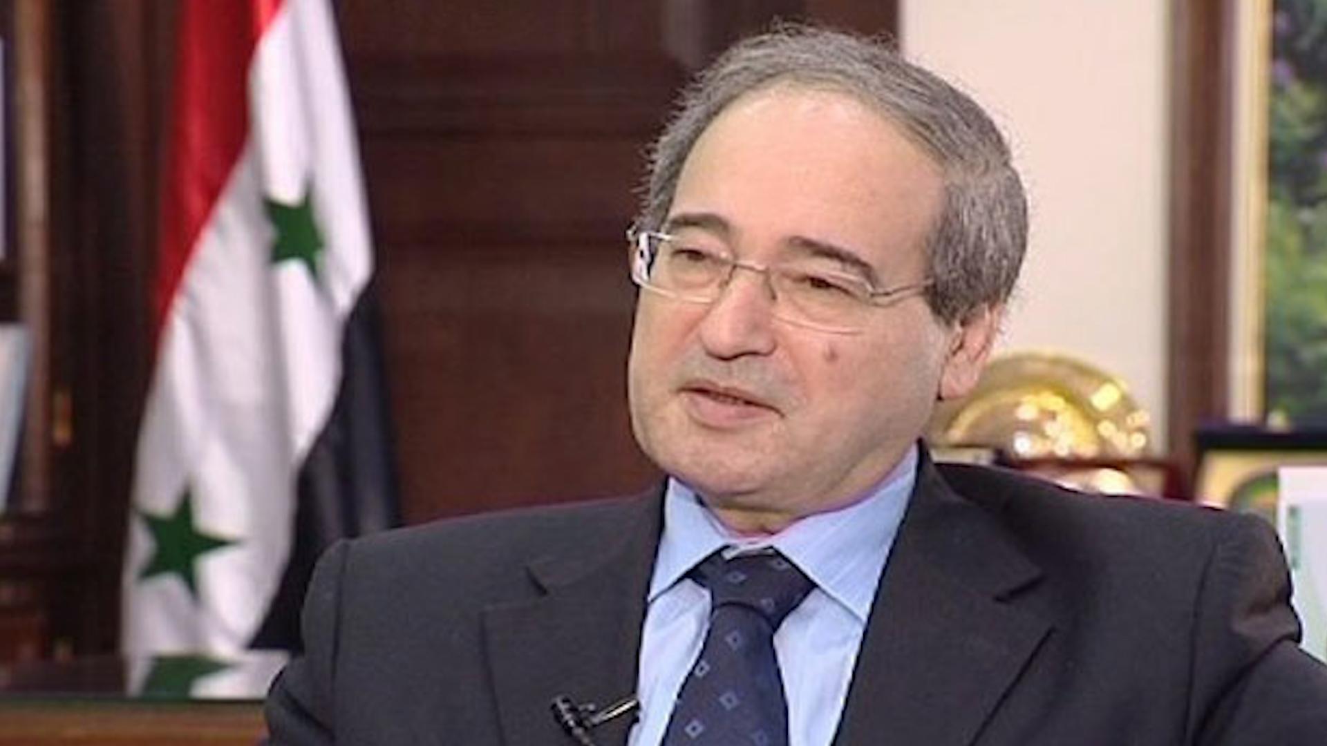Photo of فيصل المقداد: لن نقبل بأي احتلال لأي ذرة تراب سورية