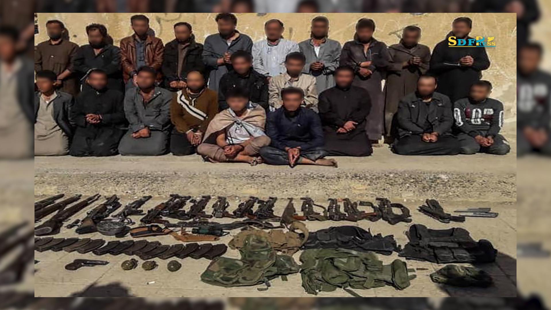 Photo of القبض على 25 من خلايا داعش بينهم مسؤول الأسرى