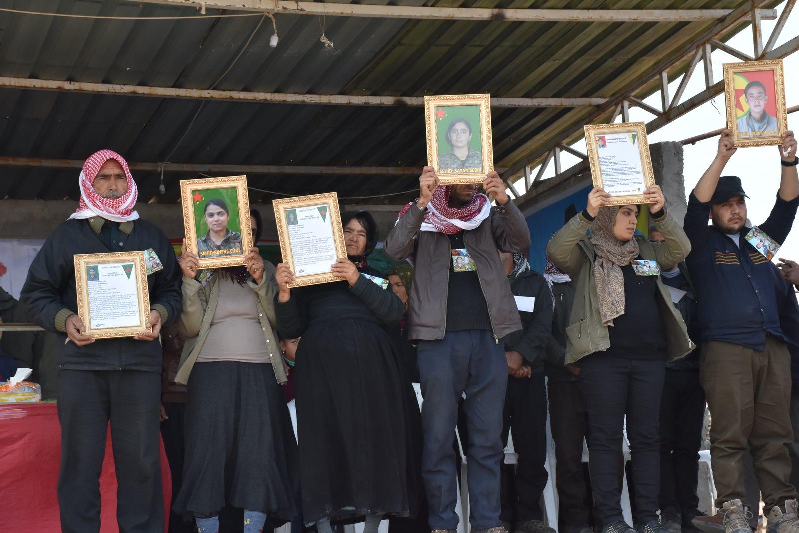 Photo of مراسم غيابية لـ 3 شهداء من مقاومة الكرامة في الشهباء