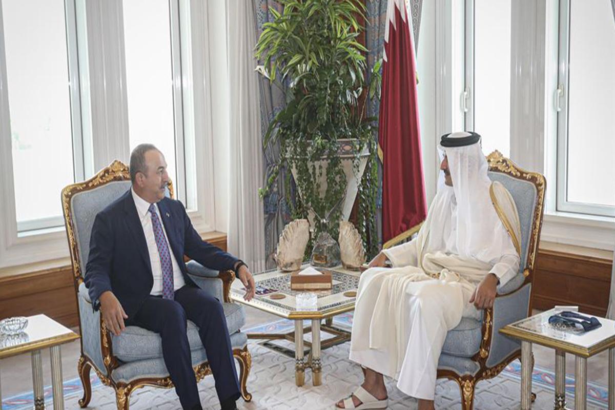 صورة أوغلو: نشكر قطر على تمويلها العملية العسكرية التركية في شمال سوريا