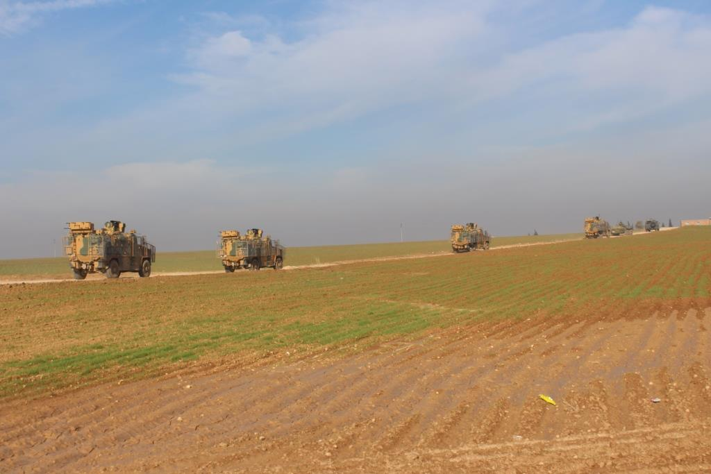 Photo of انتهاء تسيير دورية روسية مشتركة مع جيش الاحتلال التركي في ناحية الدرباسية