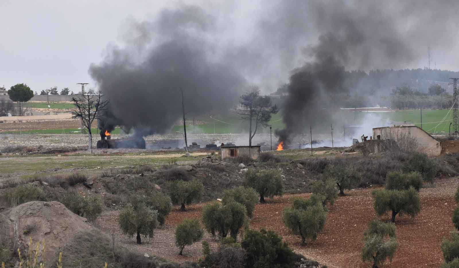 Photo of جيش الاحتلال ومرتزقته يقصفون قرى ناحيتي شرا وشيراوا الآهلة بالسكان