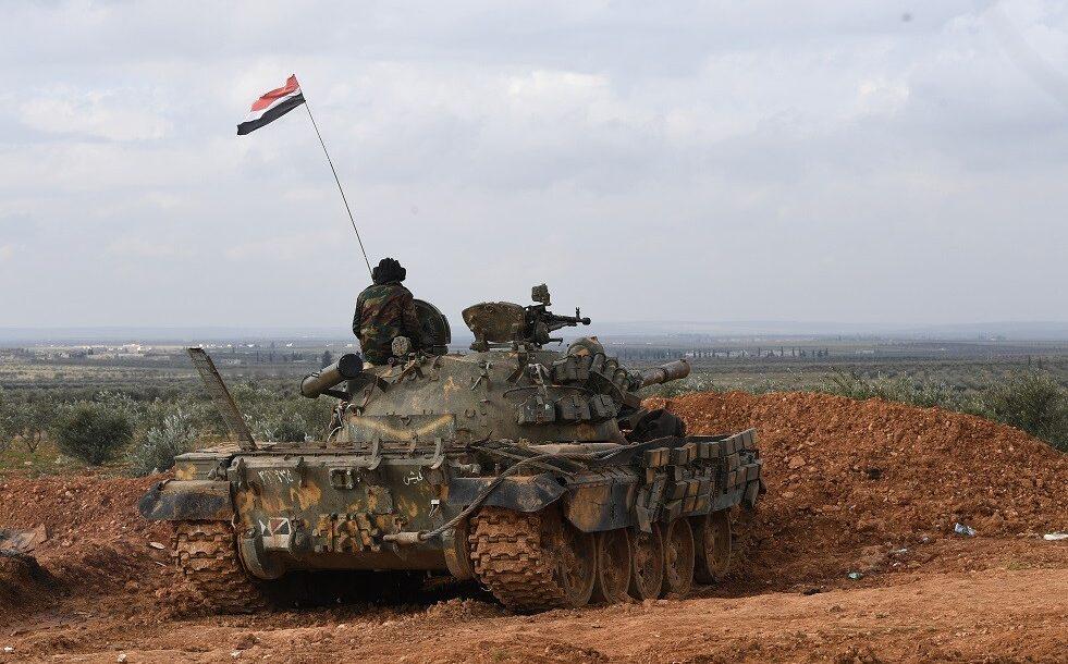 صورة تدميرُ 3 عربات ومقتل عدد من قوّات النّظام بقصف الاحتلال التّركيّ لمواقعهم جنوبي M4