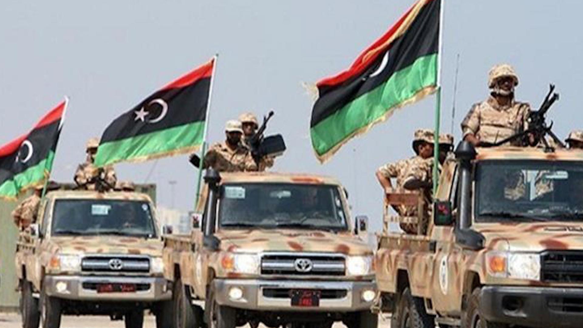 Photo of الجيش الوطني الليبي يواصل هجومه على قوات السراج في طرابلس