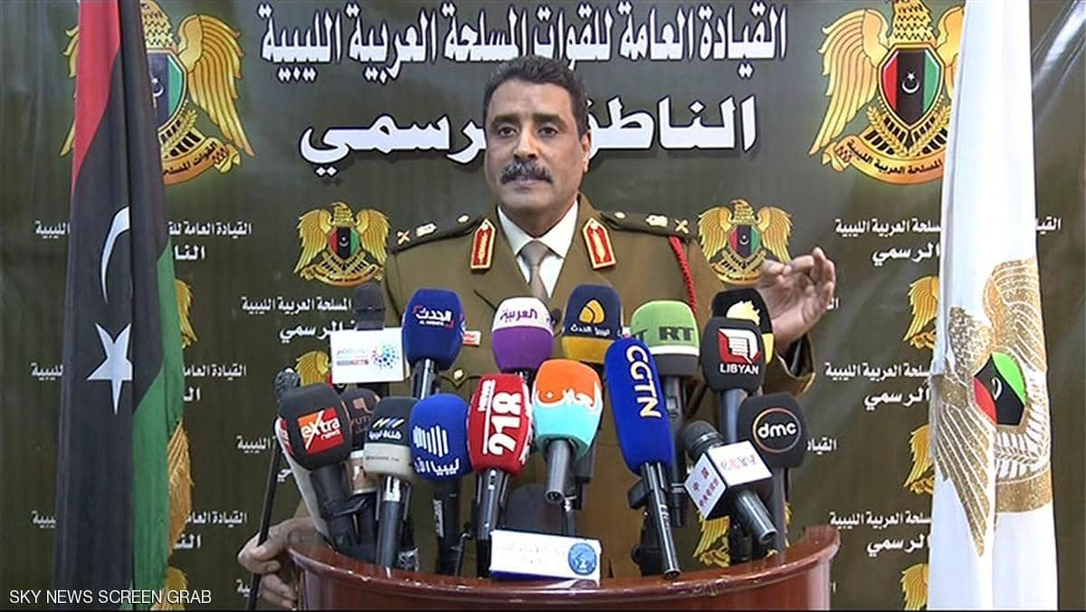 "Photo of أحمد المسماري: السيطرة على مدينة ""سرت"" كانت سريعة وخاطفة"