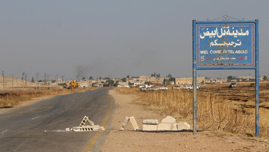 """صورة أحرار الشرقية"""" يخطفون مدنيين بينهم أطفال ومسنين في كري سبي/ تل أبيض"""""""