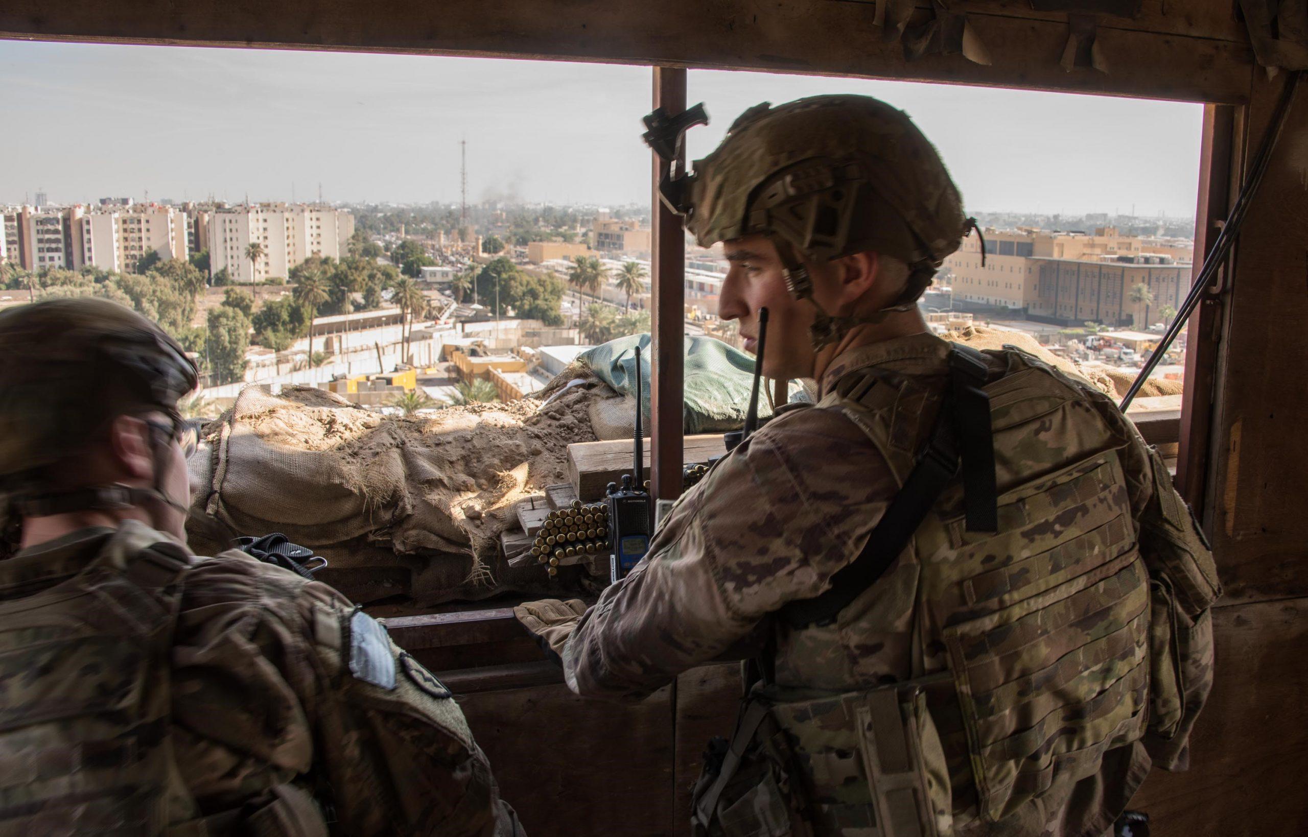 Photo of واشنطن تنشر صورا لإجراءات أمنية مشددة في سفارتها ببغداد