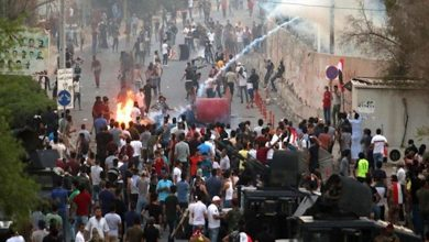 Photo of المتظاهرون يغلقون ساحة الطيران ببغداد مع نهاية مهلة ذي قار الممنوحة لأحزاب السلطة