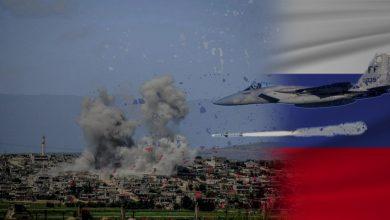 Photo of روسيا تقصف محيط تجمع القوات التركية وتعزيزات ضخمة للنظام إلى جبل الزاوية