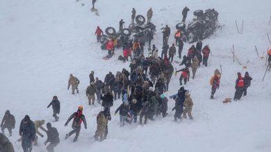 صورة شمال كردستان..زيادة جديدة بقتلى كارثة الانهيارين الثلجيين