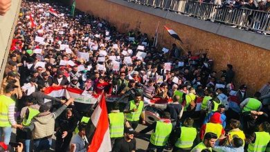 Photo of العراق..تظاهرات طلابية في محافظات عدة تحمّل الصدر الدماء المهدورة