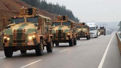 Photo of الاحتلال التركي يرسل راجمات صواريخ إلى الحدود السورية