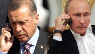 Photo of محادثات هاتفية بين أردوغان وبوتين وسط توتر خطير في إدلب