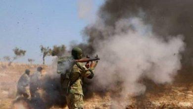 Photo of المرصد: تواصل الاشتباكات البرية بين مرتزقة تركيا وقوات النظام في إدلب