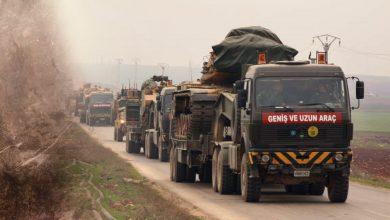 Photo of رتل مؤلف من 100 آلية عسكرية للاحتلال التركي يدخل الأراضي السورية