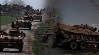Photo of رتل عسكري جديد للاحتلال التركي يدخل الأراضي السورية