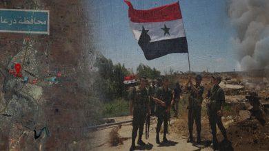 """Photo of درعا..بعد رفضهم لـ """"التسوية الجديدة"""".. وصول قافلة تحمل مسلحين سابقين لدى الفصائل إلى الشمال السوري"""