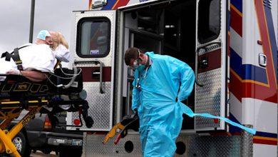 صورة ازدياد كبير في عدد المصابين بكورونا في أميركا