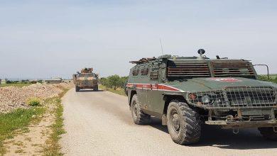 صورة دورية جديدة للقوات الروسية والاحتلال التركي غرب كوباني