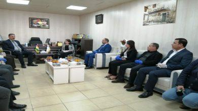 Photo of الاتحاد الوطني الكردستاني يقدم مساعدات طبية لروج آفا