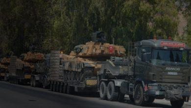 صورة الاحتلال التركي يستقدم رتلا عسكريا جديدا إلى شمال غرب سوريا