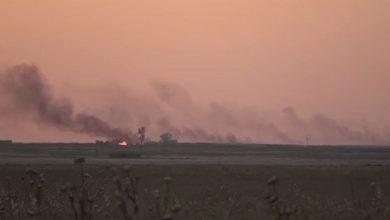 Photo of بالفيديو..الاحتلال ومرتزقته يواصلون حرق المحاصيل الزراعية بريف تل تمر