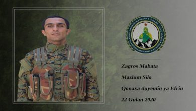 Photo of تحرير عفرين تكشف سجل أحد مقاتليها استشهد في عفرين المحتلة