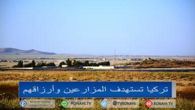 Photo of تركيا تستهدف المزارعين وأرزاقهم بين شمال وشرق سوريا وشمال كردستان