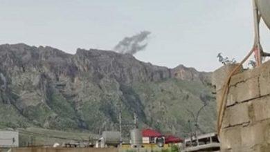 صورة جيش الاحتلال يستمر بقصف قرى دهوك وناحية آميدية