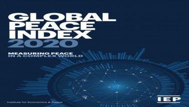 Photo of تركيا تحتل المراتب الأخيرة في مؤشر السلام العالمي لعام 2020