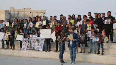 Photo of مهجرو عفرين في كوباني يستنكرون جرائم الاحتلال التركي ومرتزقته بحق أهلهم