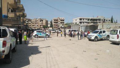 Photo of انفجار قنبلة وسط الأحياء السكنية في قامشلو