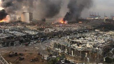 Photo of إلهام أحمد و ألدار خليل يعزيان الشعب اللبناني وذوي ضحايا الانفجار