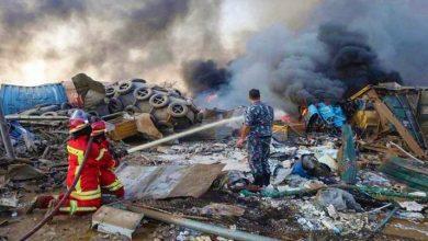 Photo of أكثر من 100 قتيل و4000 مصاب في انفجار وقع في مستودعات ميناء بيروت