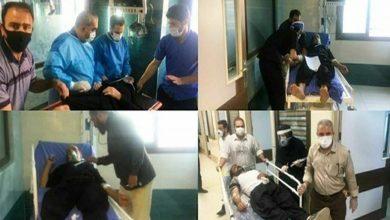 صورة إصابة أكثر من 200 شخص بانفجار لغاز الكلور غرب إيران