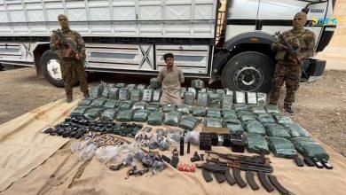 صورة بالفيديو.. قسد: وحدات مكافحة الإرهاب تتمكن من ضبط كميات من الأسلحة والمواد المتفجرة