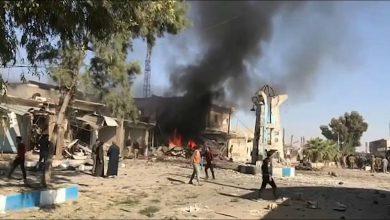 صورة انفجار يضرب بلدة سلوك المحتلة بريف الرقة الشمالي يسفر عن جرحى